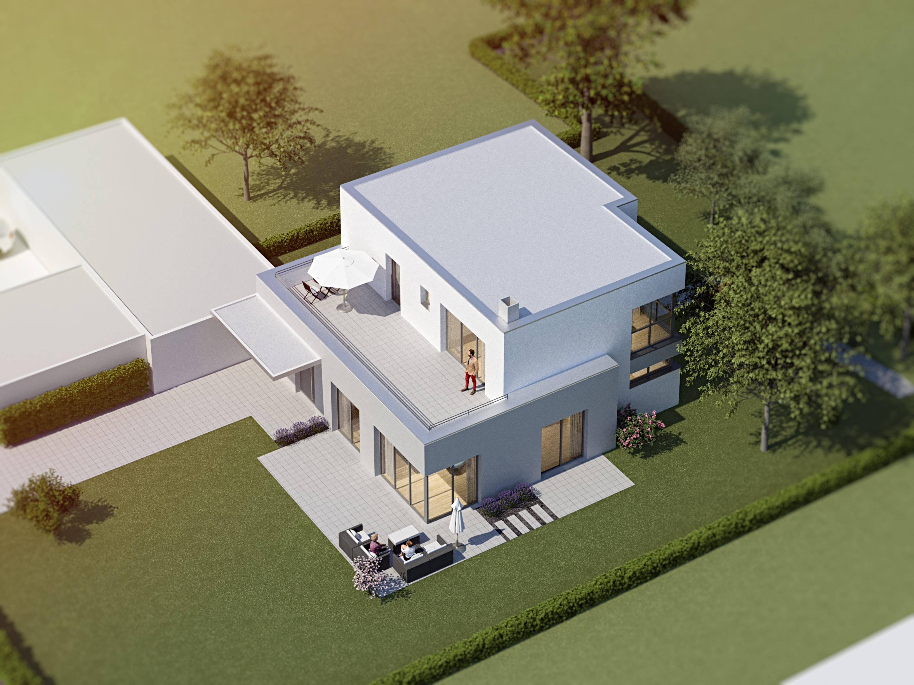 Einfamilienhaus Architektin Kulla