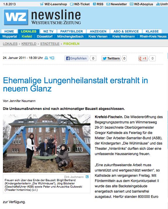 """Bild von """"Lungenheilanstalt im neuem Glanz"""""""